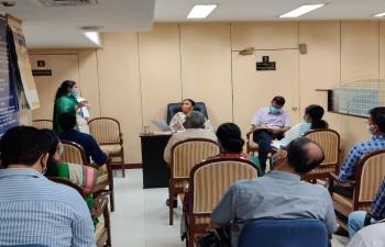 Hindi Karyanvayan Samiti ki Baithak
